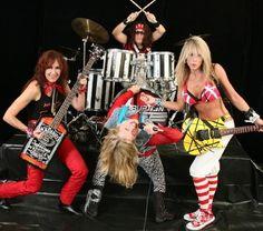 Wow...a female Van Halen tribute band.