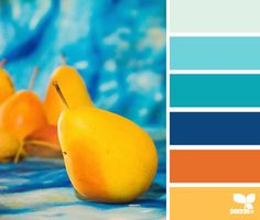Beautiful bright, bold colors that go so well together!  #colors #colorful #colorpalette