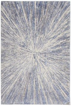 Nourison Silky Textures Area Rug - This Blue - Grey rug would make a wonderful addition to any house. Discover why many others prefer to shop with RugStudio Blue Carpet, Diy Carpet, Carpet Colors, Modern Carpet, Rugs On Carpet, Hall Carpet, Stair Carpet, Carpet Decor, Magic Carpet