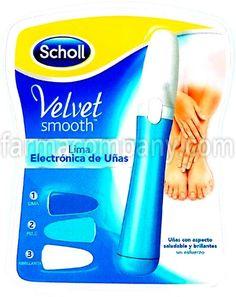 Dr Scholl Velvet Smooth Lima de Uñas Electrónica NUEVO en Farmacompany.com