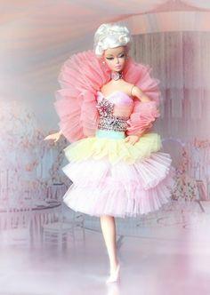 BARBIE SILKSTONE SWAROVSKI COTTON CANDY COUTURE FASHION MODEL COLLECTOR BFMC   eBay Crochet Barbie Patterns, Barbie Clothes Patterns, Barbie Gowns, Mattel Barbie, Fashion Royalty Dolls, Fashion Dolls, Barbie Makeup, Barbie Birthday, Barbie Doll House