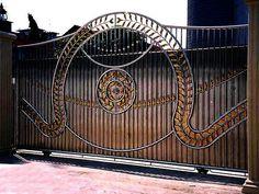 Iron Entry Gates | please click on thumbnail to enlarge