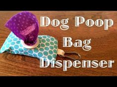 Dog Poop Bag Dispenser | ThriftyFun