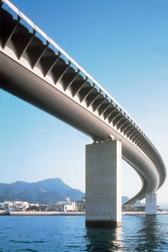 Ushibuka Haiya Bridge, Amakusa City, Japan, 1998 Photo © Chiaki Yasukawa