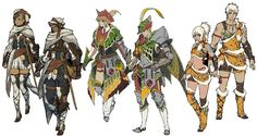 monster hunter generations deviant armor - Google 搜索