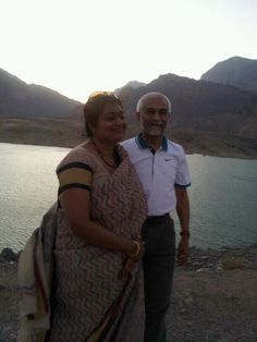Muscat, Oman - my parents in the beautiful desert city! Home....