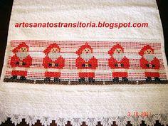 ARTESANATOS TRANSITÓRIA: ponto oitinho natal
