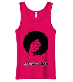Kemetic Warriors Strong Black Superhero with Flaming Fists Sleeveless Ladies Tank Top