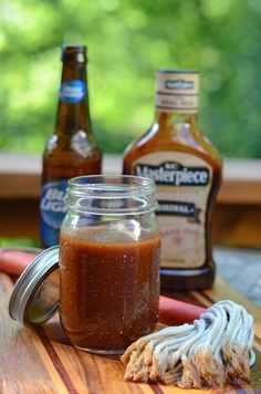 An easy mop sauce for grilled or smoked chicken that I learned from a neighbor long time ago.  Still use it today.