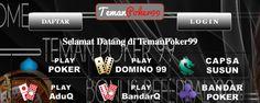Selamat datang dan selamat bergabung di Agen Judi TemanPoker99, Teman Poker99, Link Alternatif Daftar dan