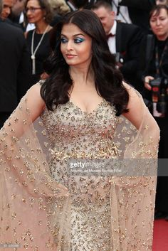 Aishwarya Rai attends 'Slack Bay (Ma Loute)' premier during the 69th Annual Cannes Film Festival on May 13, 2016 in Cannes, .