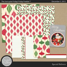 Special Delivery - digital scrapbooking collection