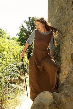 Eowyn's blue and brown dress (aka Refugee Outfit) from LotR