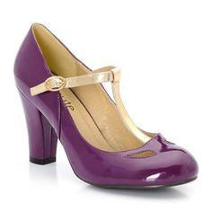 Escarpins violet #laredoute. 20% remboursés pour votre premier achat via eBuyClub => www.ebuyclub.com/la-redoute-298?trckpro=Pinterest_partage