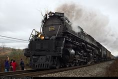 RailPictures.Net Photo: CRR 676 Clinchfield Railroad Steam 4-6-6-4 at Fort Blackmore, Virginia by Mike Pierry, Jr.