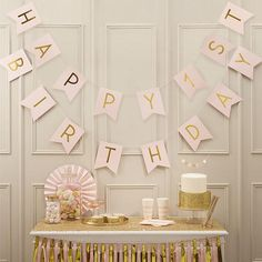 Happy First Birthday Banner in Pink and Gold// Written Happy 1st Birthday//Pink and Gold//Party Decoration//Wall decoration/Birthday Girl.Use this adorable pink and gold foiled Happy 1st Birthday Bunting at your little one's 1st birthday party! The stunning gold foil shines bright and is sure to be loved by all your family and friends. Make magical memories at your babies 1st birthday party by decorating with this gorgeous foiled bunting!Bunting measures: 2.5m in length. #inspiredbyalma