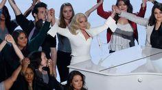 VIDEO. Lady Gaga a fait pleurer aux Oscars, avec sa chanson qui dénonce le viol
