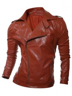 GET $50 NOW | Join RoseGal: Get YOUR $50 NOW!http://m.rosegal.com/mens-jackets/epaulet-design-zip-up-faux-812491.html?seid=ap6snmsbvrrov41cd8cqqn12b7rg812491