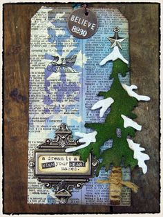 supplies: (ranger): craft sheet, ink blending tool, distress ink/broken china/dusty concord/stormy sky/walnut stain/peeled paint/pine needles, distress embossing ink, clear embossing powder, wonder...