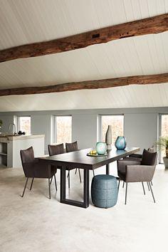 Combo Design is officieel dealer van Design on Stock ✓ Gratis offerte aanvragen Moka eetkamerstoel ✓ Altijd de scherpste prijs ✓ Snelle levering Conference Room, Dining Table, Furniture, Design, Home Decor, Decoration Home, Room Decor, Dinner Table