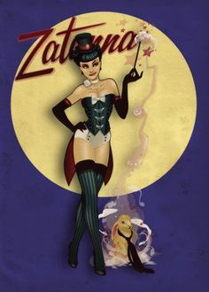 Bombshells Comics poster prints by DC Comics Character Drawing, Comic Character, Harley Quinn, Top Superheroes, Zatanna Cosplay, Comic Art, Comic Books, Fanart, Dc Comics Characters