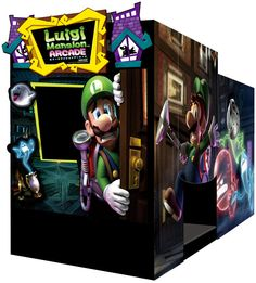 Luigi Mansion Arcade is getting some help from Sega Japan. Details with new screenshots inside. Arcade Games For Sale, Arcade Game Room, Arcade Game Machines, Games For Fun, Bar Games, Arcade Machine, Bartop Arcade Plans, Rush Games, Nerf Toys