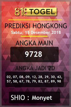 Prediksi togel hongkong hari sabtu, 15 desember 2018. #prediksitogelHK #togelHK #togelhongkong #togelhariini #Boaman #BOterpercaya