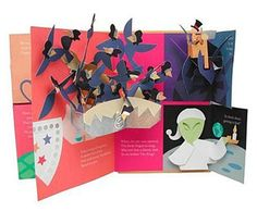 pop-up books by Robert Sabuda