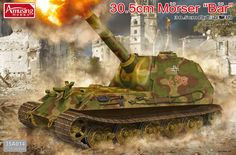 "The Modelling News: In-Boxed: The 35th scale 30.5CM Mörser ""Bär"" from Amusing Hobby"