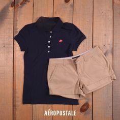 Short + Polo en esta primavera #AeroSpringMx #AeropostaleMx