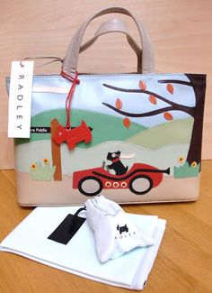 Radley Away Day Signature Handbag Worldwide Postage | eBay  Have this one and it is super cute!!!