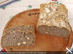 Veganes, glutenfreies Buchweizenbrot mit Nüssen und Samen, ein schönes Rezept aus der Kategorie Frühstück. Bewertungen: 6. Durchschnitt: Ø 3,9.