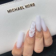 60 + long trendy fall nails style which is popular in ins 2019 - ibaz How to make a long nails design? Which style is popular? If you are looking for one style for yourself. Well, we've just found about 60 more long trendy fall nails design for you. Long Nail Designs, Simple Nail Art Designs, Nail Polish Designs, Acrylic Nail Designs, Nails Design, Long Gel Nails, Coffin Nails Long, White Coffin Nails, Dope Nails