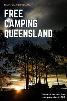Free Camping in QLD - A list of all the free campistes around the great state of Queensland. Find free beachside, riverside and forest campgrounds. Camping Places, Camping Glamping, Travel Oz, Motorhome Travels, Australian Road Trip, Australia Travel Guide, Destinations, Channel, Beautiful Places To Travel