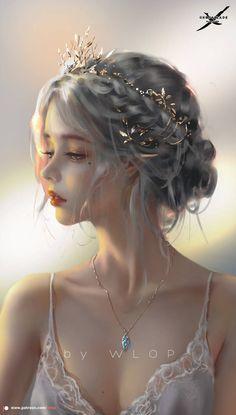 Fantasy Art Women, Beautiful Fantasy Art, Dark Fantasy Art, Fantasy Girl, Fantasy Artwork, Beautiful World, Digital Art Girl, Digital Art Fantasy, Pretty Art