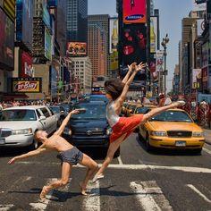 Phtot by Richard Calmes   Beautiful Dancers on the Town > Kile Hotchkiss and Natasha Diamond-Walker