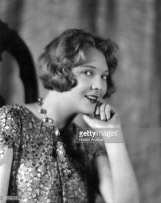 circa 1934: Dorothy Mackaill (1903 - 1990), the English film actress who starred in 'Bright Lights' and 'Hard to Get'. She was signed by First National. (Photo by Hulton Archive/Getty Images)