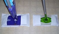 sew your own swiffer mop cloths