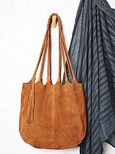 Decades Suede Tote Bag