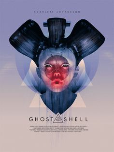 Ghost in the Shell by Richard Davies - Home of the Alternative Movie Poster -AMP-