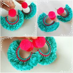 Image result for next pom po earrings