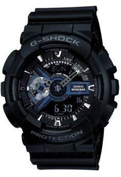 CASIO G-Shock GA-110-1BER - Reloj de caballero de cuarzo, correa de resina color negro: Amazon.es: Relojes
