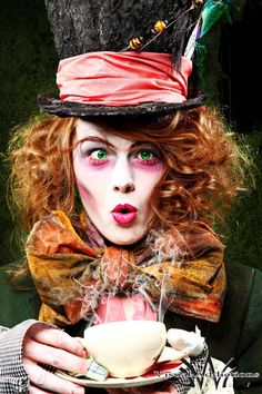 1271efa0104 custom had-hatter - Definitely doing this for a future photoshoot! Mad  Hatter Halloween