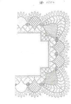 Para todo Bobbin Lace Patterns, Tatting Patterns, Crochet Patterns, Crochet Doilies, Crochet Lace, Doily Art, Bobbin Lacemaking, Vbs Crafts, Crochet Borders