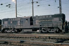 (Lima-Hamilton LT-2500). Pennsylvania R.R. #8726. 2500 H.P.. Diesel-electric transfer locomotive. Built between 1950 and 1951.