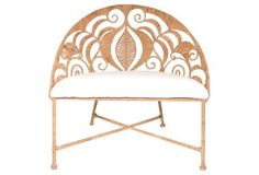 "Tamra 38"" Bench, Copper"