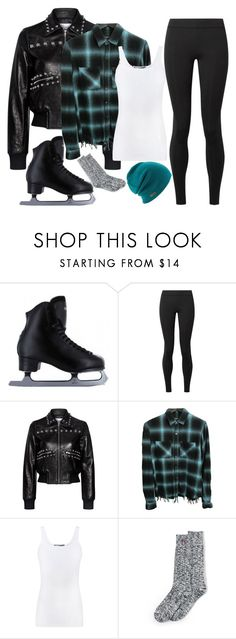 """""""Untitled #512"""" by maggiethedork ❤ liked on Polyvore featuring The Row, RED Valentino, AMIRI, Vince, Lands' End and iceskatingoutfit"""
