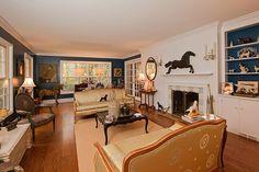 Equestrian living room