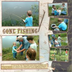 Gone Fishing - Scrapbook.com