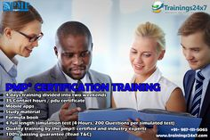 Trainings24x7 Provide PMP Certification Involving: 4 days training divided into two weekends 35 Contact hours / pdu certificate Mobile apps Study material Formula book 4 full length simulation test (4 Hours, 200 Questions per simulated test) Quality training by the pmp® certified and industry experts 100% passing guarantee (Read T&C)